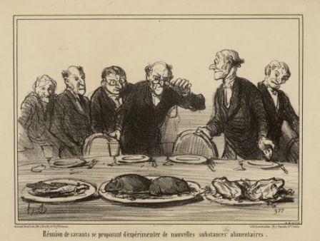 Les savants, par Daumier
